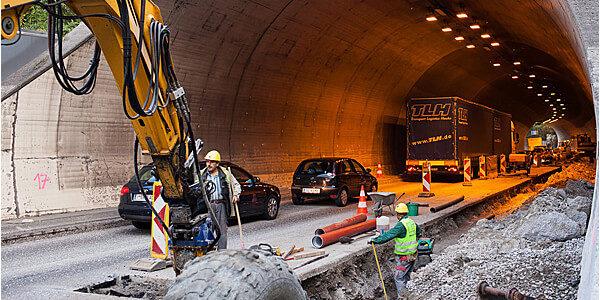 ///   Schattenburgtunnel Feldkirch