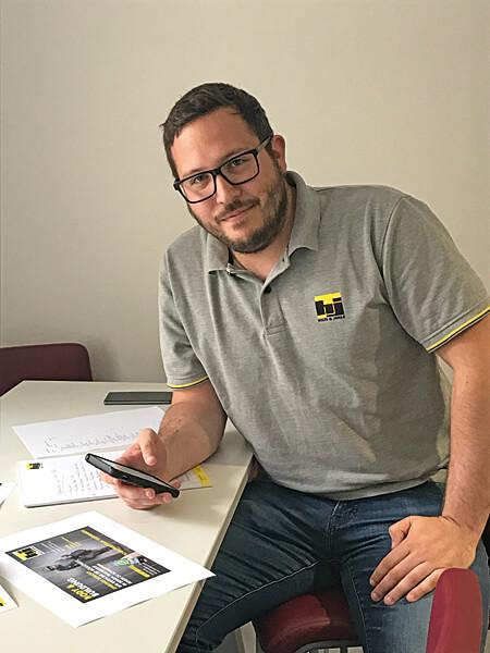 Daniel Pusnik Lehrlingscoach Hilti & Jehle