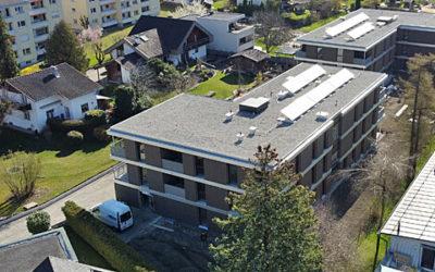 WA Egelseestrasse Baufortschritt
