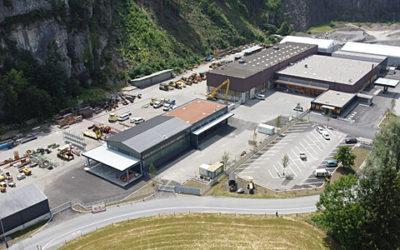 Neues Logistik- und Dienstleistungszentrum